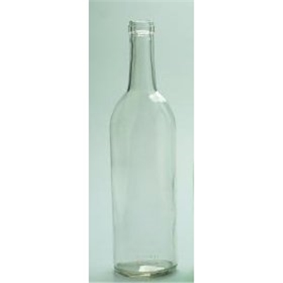 Bordeaux Clear Wine Bottles