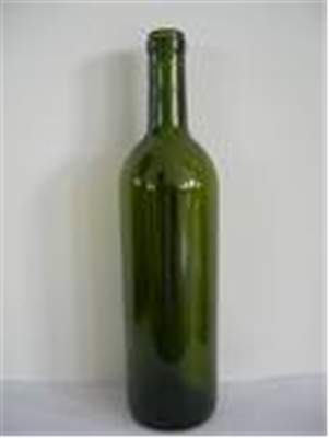 Bordeaux Green Wine Bottles