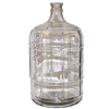 Glass Carboy (Italian) 3, 5, 6, or 6.5 Gal.