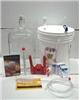Gold Beer Making Equipment Kit - 6 Gal. Glass Carboy