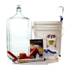 Gold Beer Making Equipment Kit - 5 Gal. Glass Carboy