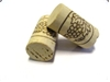 Wine Corks - Logo, Natural Grade 1, #9 x 1.75 - 5 Pack
