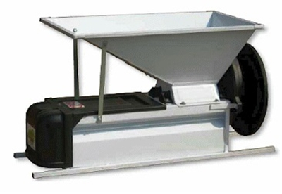Grape Crusher Destemmer - Manual Enamel Finish