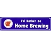 Bumper Sticker - I'd Rather Be Home Brewing