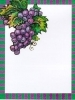 Wine Bottle Labels, Grape Bunch - Pack of 32