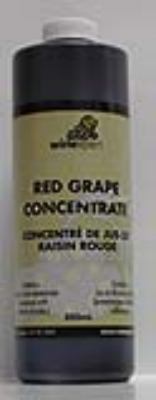 Red Grape Concentrate, 1 Liter/33.6 oz.