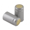 Silver Shrink Capsules w/ Gold Top - 500 Pack