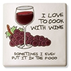 Trivet - I Love to Cook With Wine...