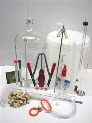 Ultimate / Vintner's Wine Making Equipment Kit - PLASTIC