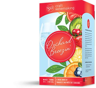 Orchard Breezin - Peach Perfection Wine Kit