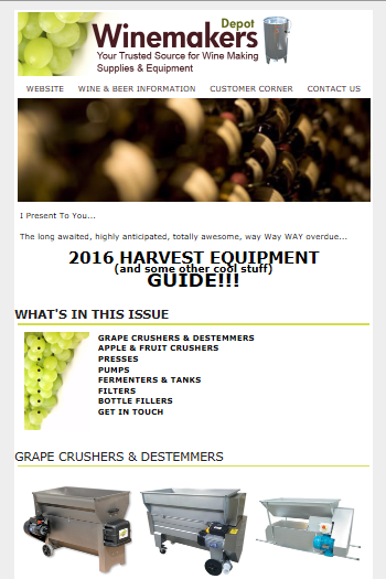 2016 Harvest Equipment Guide