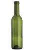 Bordeaux Green Wine Bottles, 375 ml (Cs of 12)