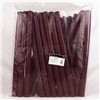 Burgundy (Matte) Shrink Capsules  - 1000 Pack