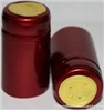 Cranberry Red Shrink Capsules w/ Gold Top - 100 Pack
