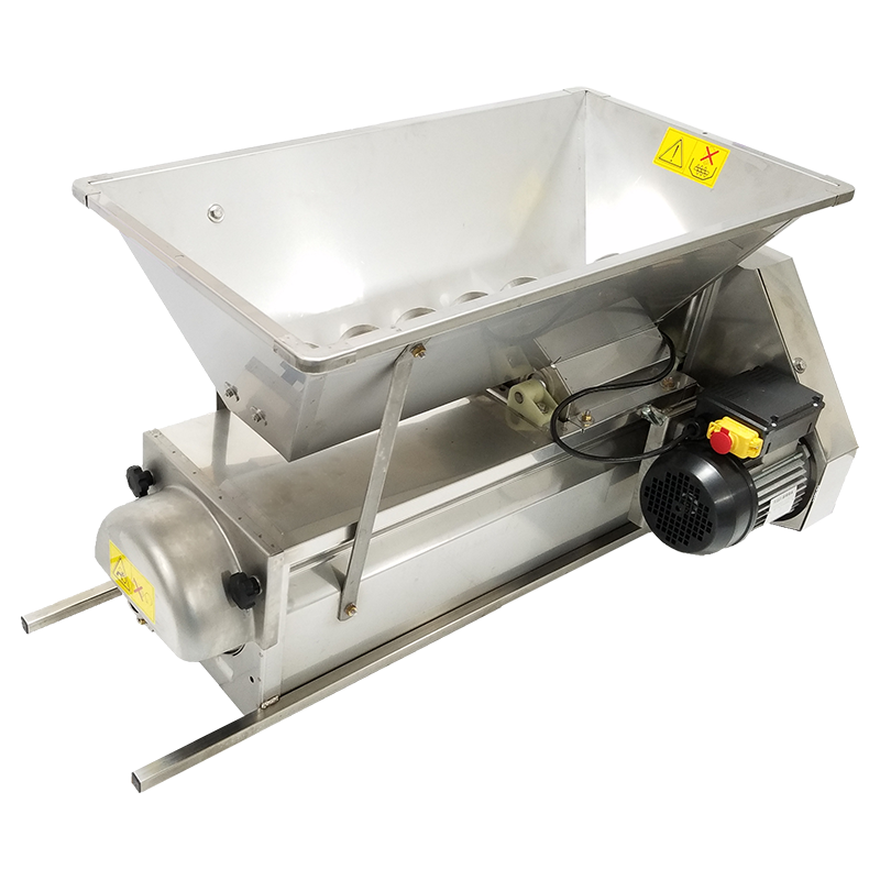 Grape Crusher Destemmer Electric W St Steel Finish 1 5