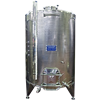 Jacketed, Variable Capacity, Conical Bottom Tanks 1,000 to 2,150 Liter