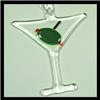 Ornament (Glass) - Martini