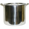 Brew Pot with Lid - 20 Quart Stainless Steel