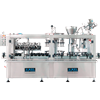 BLUE LINE Automatic Rinser, Vacuum Filler, Corker, & Screw Capper