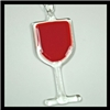 Ornament (Glass) - Glass of Red Wine