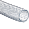 Reinforced Clear Poly Braided Transfer Hose
