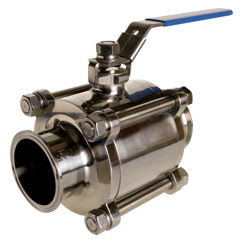 Tri-Clamp Ball Valve (Encapsulated)