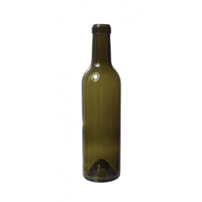 Bordeaux Green Wine Bottles, 375 ml (Cs of 24)