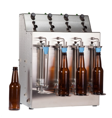 Counter Pressure Bottler Filler (2 or 4 Head)