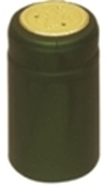 Green Shrink Capsules (Matte) - 500 Pack