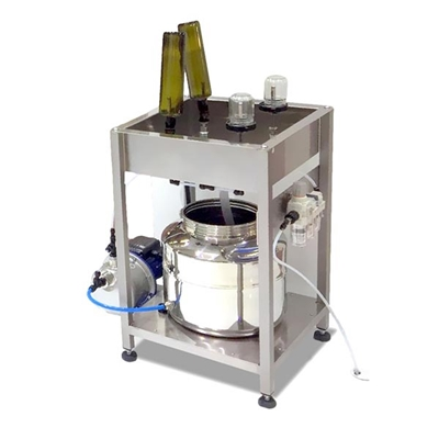 Bottle Rinser & Sparger or Dryer - Semi-Automatic (2 or 4 Nozzle)