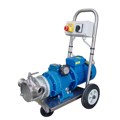 T-110 VM155<br>Variable Speed Pump (30 - 217 Lt/min)